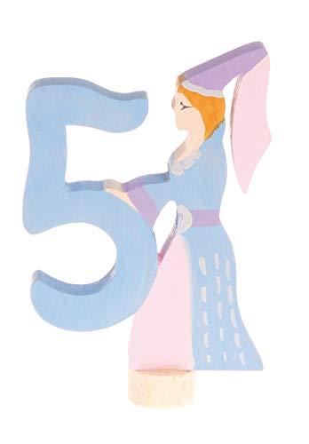Figure décorative nombre 5, Grimm's