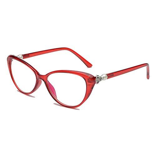 VEVISTARS Lesebrille Katzenaugen Damen Vintage Mode Cateye Hornbrille Lesehilfen Sehhilfe Retro...