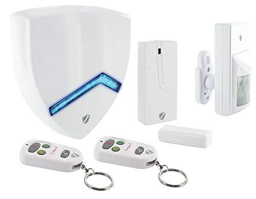 SCHWAIGER -5392- Funk-Alarm-System/Alarmanlage fürs Haus/Sirene / mit Fernbedienung/Einbruchschutz...