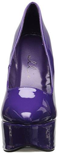 Ellie donne sexy con tacco alto scarpe con tacco 15,2cm in viola classico pompa Viola (Viola)