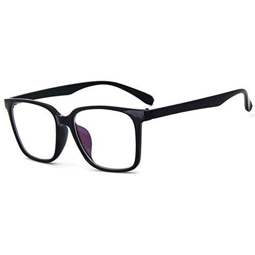 GBST Mode Frauen Brillengestell Männer Schwarz Brillengestell Vintage Platz Klare Linse Gläser Optische Brillengestell,A