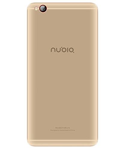 Nubia M2 lite Smartphone (13,9 cm (5,5 Zoll), 64GB interner Speicher, 3GB RAM, 13MP Kamera, Android 6.0) Champagne Gold