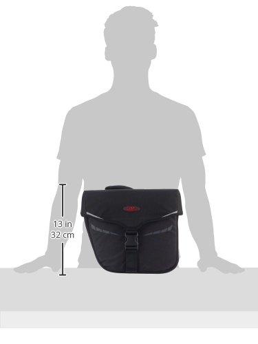 Norco Idaho Doppeltasche - Gepäckträgertasche Schwarz