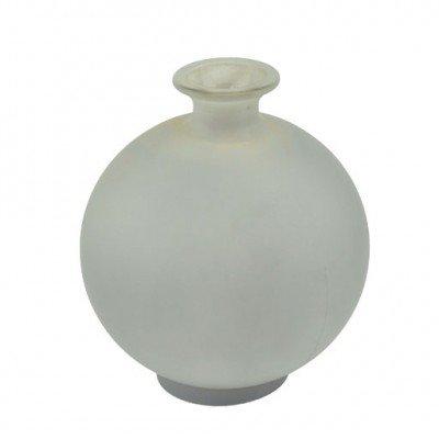 Blumenvase Kugelvase Gust ø 18 cm Grau Glas