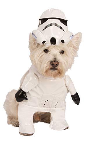 Rubies Costume Star Wars Walking Stormtrooper Pet Kostüm, Mittel (Stormtrooper Kostüm Für Hunde)