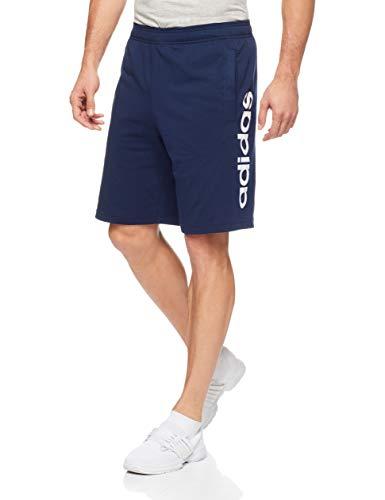 adidas Ess Lin Shor Sj Pantaloncini Sportivi Uomo Blu Collegiate Navy/White 52