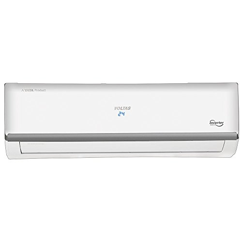 Voltas 1 Ton 3 Star Inverter Split AC (Copper, 123V...