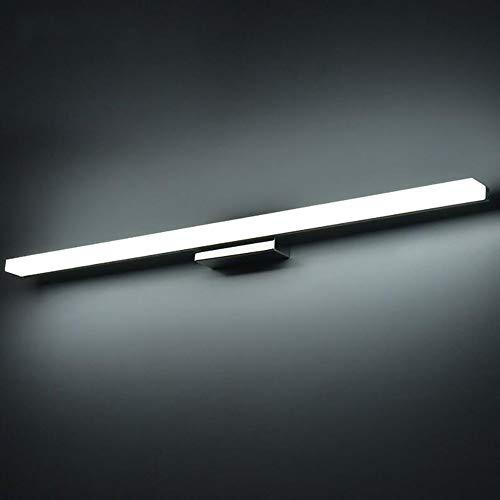 YTFU LED Spiegelleuchtemoderne Kosmetische Acryl Wandleuchte Bad Beleuchtung Wasserdicht Spiegel Schrank Lampe Badleuchte,150cm/Coolcolor