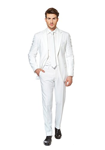 Mr. White Knight Opposuits (Anzug Karneval)