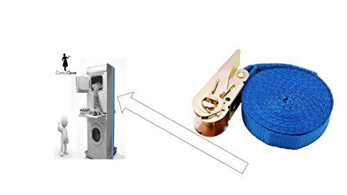 Conny Clever NUR MIT Gurt Metall Zwischenboden Stapel Rahmen Waschmaschine Trockner Gestell Verbindungssatz - Stapel Waschmaschine Und Trockner