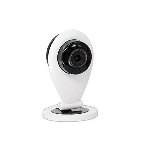 Netzwerk IP Kamera, HD 720P Wifi-Kamera Überwachungs mit IR Cut, Stereo 2 Wege Audio zum...
