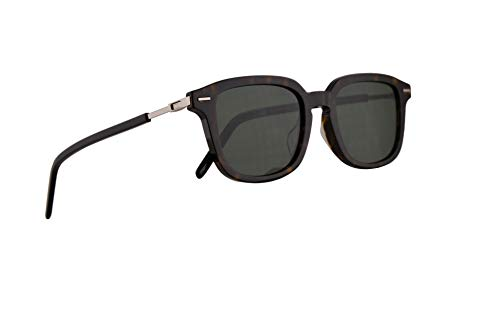 ee9a625efc Christian Dior Homme DiorTechnicity1F Sunglasses Dark Havana w Green Lens  51mm 086O7 Technicity 1F Technicity1F