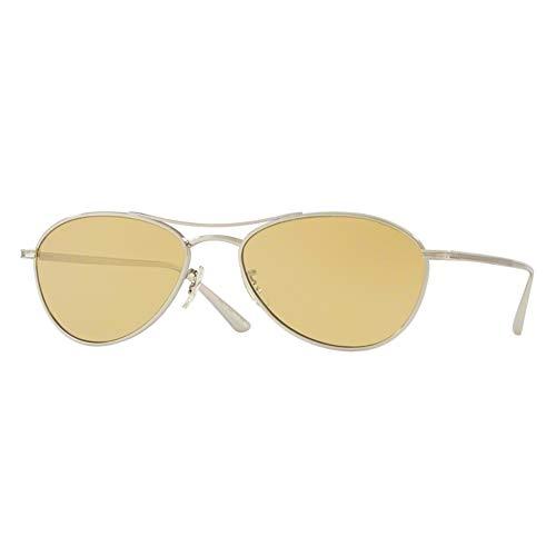 Oliver Peoples New 0OV 1245 ST AERO LA 50360F Silver Sonnenbrille