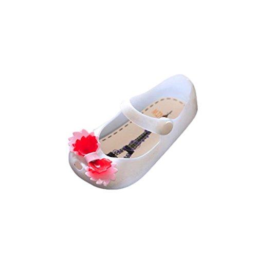 Igemy 1 Paar Nette M盲dchen Baby Kinder Gelee Bowknot Fisch Mund Sandalen Stiefel Schuhe Wei