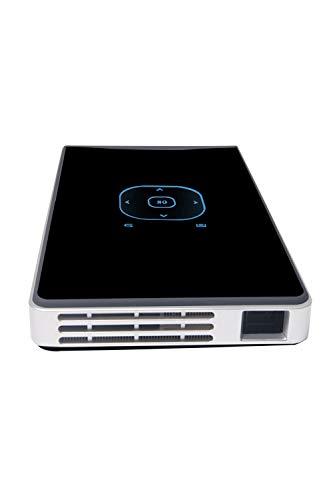 MXC Videoprojektor Tragbare Intelligente Mini-WiFi-Handy-Bildschirm Synchron Wireless Multimedia-Projektor Heimkino BüRo Lernunterhaltung 665 Wireless Bluetooth