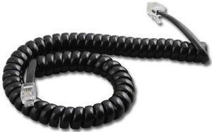 3 X Nortel Norstar 9 ft. Black Handset Cord For M7100, M7208, M7310, M7324 Phone by Harvard Equipment Group Nortel Norstar M7310