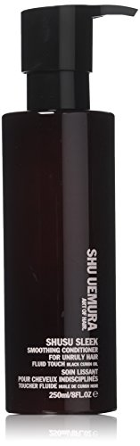Tiefe Glättung Conditioner (Shu Uemura Shusu Sleek Smoothing Conditioner (For Unruly Hair) 250Ml/8Oz by Shu Uemura)