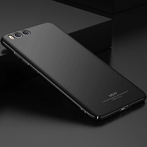 Coque Xiaomi Mi 6, MSVII® Très Mince Coque Etui Housse Case et Protecteur écran Pour Xiaomi Mi 6 - Bleu JY00296 Noir