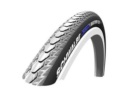 Preisvergleich Produktbild 24 x 1 (25-540) Schwalbe Marathon Plus Grey Puncture Resistant Wheelchair Tyre (One Colour / One Size) by Schwalbe