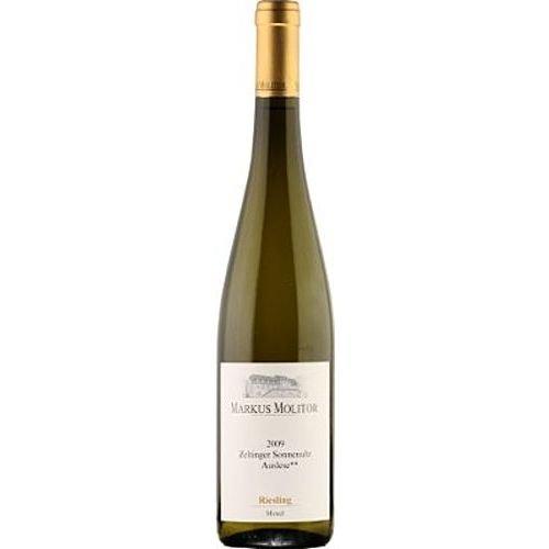 2009 Markus Molitor Riesling Zeltinger Sonnenuhr Auslese ** Mosel Auslese 0,75 l Weißwein süß