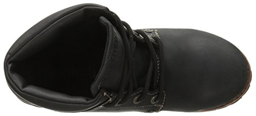 Skechers Laramie 2-lumberjane Boot Black Oiled Smooth Leather