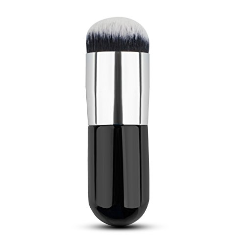 Hrph Chubby Pier Pinceau de Maquillage Plat Portable Fondation Brush Explosion Modèles Pinceau de Maquillage BB Crème