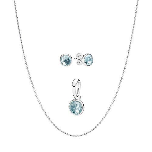 Pandora parure di gioielli donna argento - b800370