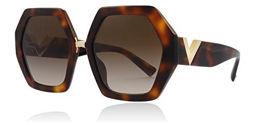 Valentino Sonnenbrillen Resort VA 4053 Havana/Brown Shaded Damenbrillen