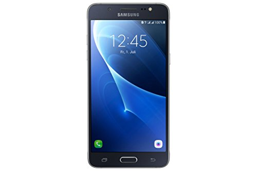 galaxy s5 duos Samsung Galaxy J5 DUOS (2016) Smartphone (13,2 cm (5,2 Zoll) Touch-Display, 16 GB Speicher, Android 6.0) schwarz ohne Samsung Flip Wallet