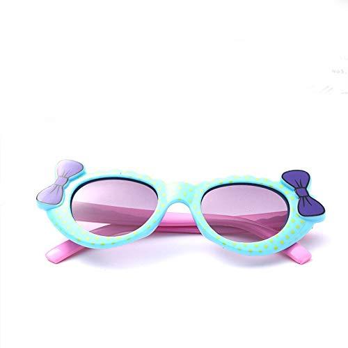Baby-Sonnenbrille, Sonnencreme, 0-3 Jahre, blauer Bogen