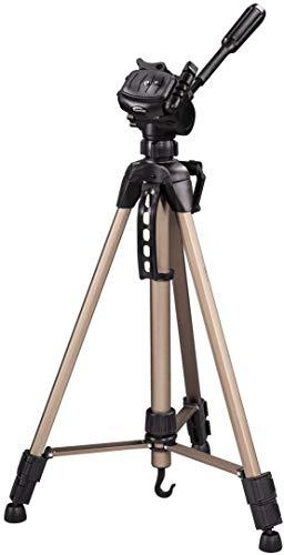 Hama Star 61 -  Trípode ligero con cabezal de 3 vías, altura 60-153 cm, peso 1220 g, trípode fotográfico...