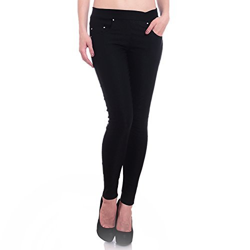 Hightide lycra black Jeggings for Women