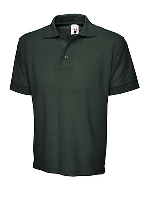 MAKZ Uneek Herren Poloshirt Baumwolle verde oscuro
