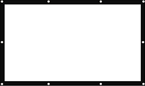 Egate Eye75 Projector Screen Eyelet, 7 X 5 Feet