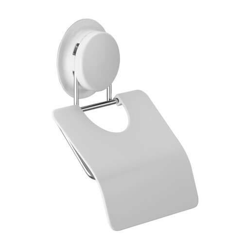 Toilettenpapierhalter und Abdeckung mit Hochleistungs-Saugnäpfen für das Badezimmer