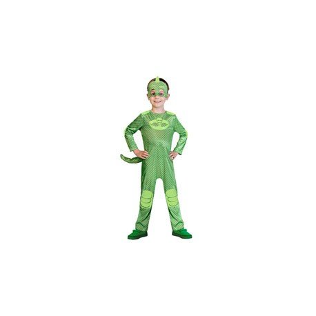 Childrens Size PJ Masks Gekko Costume Medium (5-6 years)