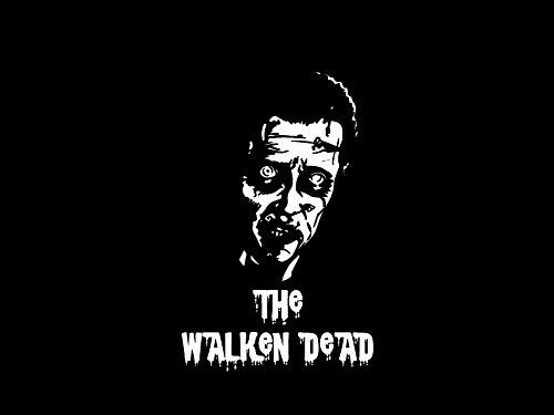 Motiv Die Walken Dead Funny Parodie–leicht anzuwenden W Bewertung und Vergleich