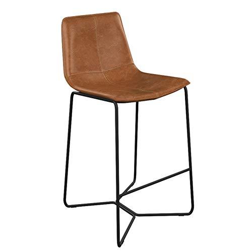 Barhocker / rustikale Retro/Metall/Kunstleder/industriellem Stil Sitz, Frühstück Küchentheke (Sitzhöhe: 45-85cm) -