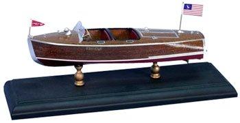9-1/2 1940 Chris Craft 19' Barrel Back Boat Laser Kit (1/24 Scale) Dumas (Chris Craft Barrel)