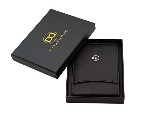 1736341c917f6b DD Dierendoo | Geldbeutel Männer mit Geldklammer | DD Slim Portemonnaie  Wallet | Herren Geldbörse | Geldtasche Männer | klein Portmonee | RFID ...