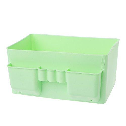 Fogun Écologique Facilement Doug cosmétique boîte de rangement petit bureau bureau ordinateur à distance boîte de rangement finition débris classification (vert)