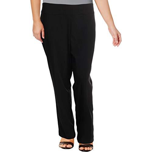 Nine West Womens Plus Ankle Pull-On Dress Pants -