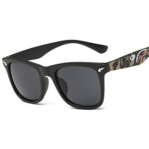 AAMOUSE Sonnenbrillen Camouflage Square Frame Blendend Farbe Sonnenbrille AntiHD Männer Frauen DesignGläser