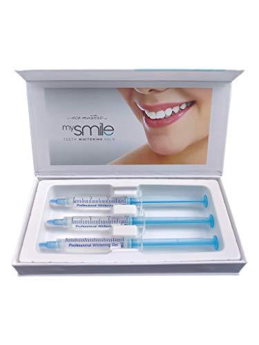 MySmile Gel - Das Original Zahnaufhellungsgel | 3x Nachfüllgel | Für Weißere Zähne | Professionelles Teeth Whitening Gel | Refill Bleaching Gel Gegen Gelbe & Graue Zähne - Gel Spritze