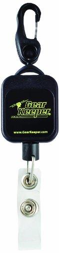 Gear Keeper RT5–5843-b01–25Super Badge Retractor mit Snap Clip Halterung und Badge bandansatz, 40lbs Bruchlast, 2,5oz Force, 91,4cm Erweiterung (25Stück)