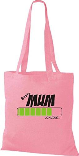 Camicia In Tessuto Borsa In Cotone Borsa Migliore Mamma Caricamento Colore Rosa Rosa
