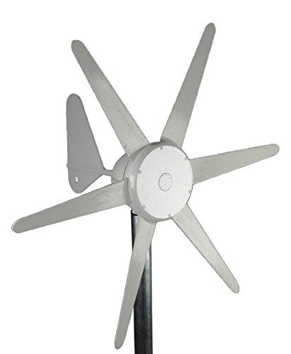 Aleko WG300300W Wind Generator 24V WIND TURBINE 24V mit integrierter - Lichtmaschine Geschwindigkeit