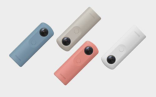 Ricoh Theta SC Videocamera per Riprese a 360°, Blu