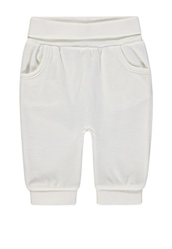 Steiff Steiff Unisex Baby Jogginghose Nicky, Weiß (Cloud Dancer|White 1610) 56