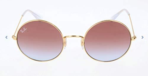 RAYBAN JUNIOR Damen Sonnenbrille Ja-Jo Gold/Lightbluegradientviolet 55